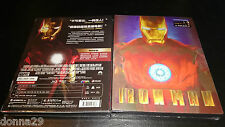 Iron Man Bluray Blufans Exclusive Lenticular OOP Rare Steelbook No.20 New&Sealed