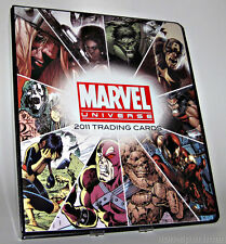 MARVEL UNIVERSE 2011 MINI-MASTER SET WITH BINDER+