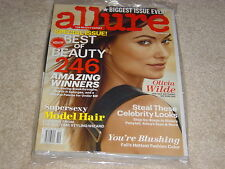 OLIVIA WILDE October 2013 ALLURE MAGAZINE NEW Biggest Issue Ever BEST OF BEAUTY