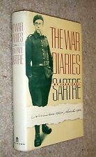 War Diaries of Jean-Paul Sartre,VG/G,HB,1984,First American Edition   K
