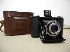 Vintage Zeiss Ikon Rangefinder Camera Nettar 515/16 Novar 75mm f/6.3 with Case