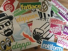 10 peice random STICKER BOMB vinyl decal pack. lucky dip, skate, car, JDM, DUB