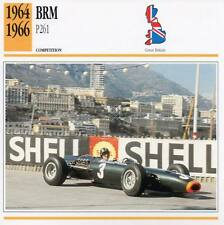 1964-1966 BRM P261 Racing Classic Car Photo/Info Maxi Card