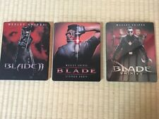 BLADE I ⅡⅢWesley Snipes SteelBook Ver. LTD Blu-ray 3pcs set Japan Limited