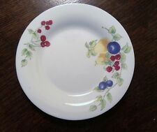 MSE Martha Stewart Salad Plates From France x1 White Fruit,Pears,Berries MTW41