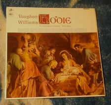 VAUGHAN WILLIAMS HODIE A CHRISTMAS CANTATA 1965 UK LP COLUMBIA SCX 3570
