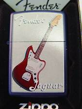 Zippo® Fender Jaguar Royal blue Gitarre Rock Musik Music- New / Neu OVP