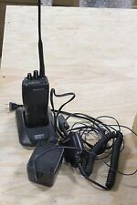 Kenwood TK290 TK-290 VHF FM RADIO WITH CHARGER AND MICROPHONE