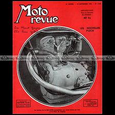 MOTO REVUE N°1153 AJS 350 PUCH 175 250 BSA 500 650 MONET GOYON 200 RENE GILLET