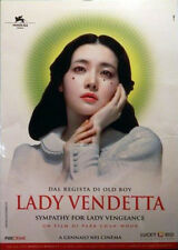 LADY VENDETTA Park Chan-Wook -  espositore LADY VENGEANCE    vedi