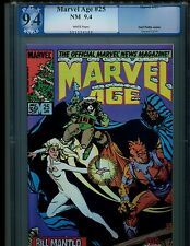 MARVEL AGE 25-PGX 9.4-3RD APP ROCKET RACCOON-GUARDIANS OF THE GALAXY-LIKE CGC