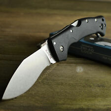 Cold Steel Rajah III CTS-BD1 Plain Edge Tactical Lockback Knife 62KGCM