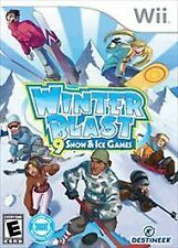 Winter Blast 9 Snow and Ice Games (WII) Brand New, Free Shipping!!