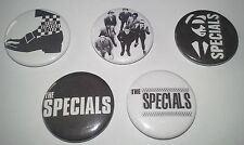 5 The Specials pin button badges 25mm Ska Ghost Town Two Tone UK Ska Punk