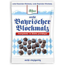 Dr Soldan Bavarian Malt Sugar Blockmalz 4x 100g - 400g Total