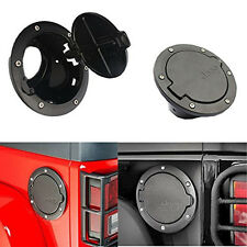 Fuel Filler Cover Gas Tank Cap For 07-16 Jeep Wrangler Unlimited 2/4 Door ABS