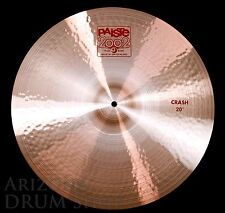 "Paiste 2002 20""  CRASH (Standard weight / Medium Thin) - USED - 6 Month Warranty"