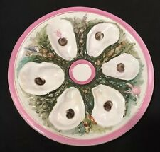 Outstanding Union Porcelain Works (UPW) Oyster Plate 1879