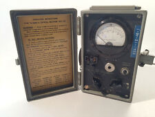 GEORGE VORON WWII US Army Crystal Rectifier Military Test Set TS-268 USA