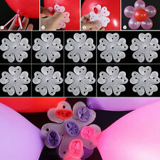Clip 10pcs  Party Xmas Wedding Birthday Tie Decoration Balloon Plum flower