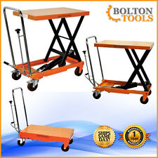 Hydraulic Scissor Lift Table Cart 660 lbs