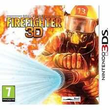 Real Heroes: Firefighter 3D (Nintendo 3DS) Nintendo 3DS and 3DS XL Brand New