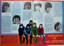 LES OSMONDS / OSMOND BROTHERS: Coupure de presse 3  pages 1973 / FRENCH CLIPPING