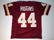 Washington Redskins John Riggins UNSIGNED CUSTOM Burgundy Jersey - Medium