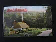 Woodmans Cottage, Nr. Somersby & Tetford, Lincolnshire Postcard