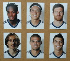 SIX REAL MADRID Football Photos 2012-13 Player Portraits inc Ronaldo,Modric,Pepe