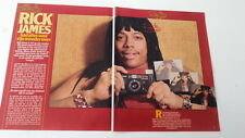RICK JAMES Popfoto 2 page magagazine PHOTO / Article / clipping