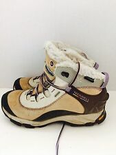 Merrell Women Thermo Arc Waterproof Winter Boots Brindle Suede Sz 7 B8