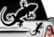 1x Gecko 16x10cm Autocollants Pour Voiture Hawaï Sticker Tattoo Gekko HIBISCUS