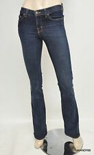 New $209 J Brand 118 Mid-Rise Boot-Cut Stretch Denim Jeans Pants Trousers Cry 25