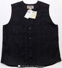 NWT Stormy Kromer Button Vest Charcoal Mens Size XL