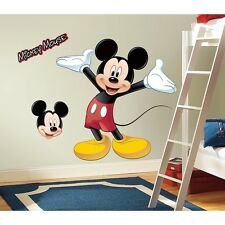 "37"" Disney MICKEY MOUSE Giant 9 Wall Decals  Mural Clubhouse Room Decor Stickers"