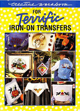 Leisure Arts Creative Workbook for Terrific Iron-On Transfers Book 38 Page Ideas