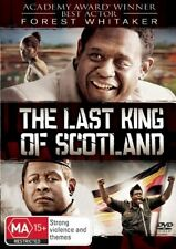 THE LAST KING OF SCOTLAND DVD Forrest Whittaker