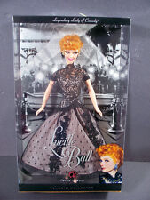 NIB BARBIE DOLL 2008 LUCILLE BALL LEGENDARY LADY OF COMEDY PINK LABEL COLLECTOR