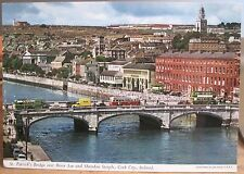 Irish Postcard ST PATRICK BRIDGE River Lee Cork City Shandon Ireland John Hinde