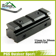 Paintball Airgun Airsoft Tri-rail Dovetail 11mm to Weaver Picatinny Rail Adapter