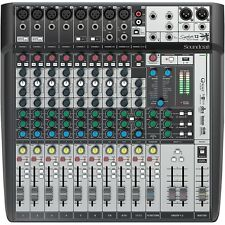 SOUNDCRAFT SIGNATURE 12MTK Multi-Track FX USB Recording Mixer $20 Instant Off