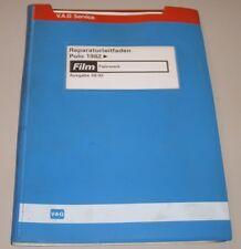 Werkstatthandbuch VW Polo II Typ 86 C Fahrwerk + Merkblätter + Microfich ab 1982