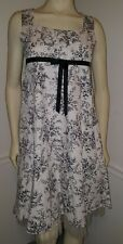 Beautiful, Elegant, Gorgeous Girls Bonnie Jean Dress Black and White Size 16 1/2