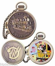 New Disney Pin Train Pocket Watch Series Minnie Mouse Limited Edition 1000