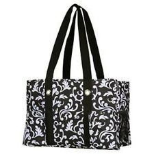NEW Thirty One Organizing Utility tote shoulder Bag 31 GIFT Black Parisian Pop