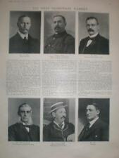 Photo article 1st Transvaal Cabinet South Africa 1907