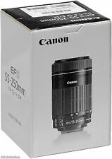 Canon EF-S 55-250mm f/4-5.6 IS STM Lente Zoom Telefoto
