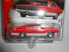 Hot Wheels 2005 Holiday Rods '67 Dodge Charger (Red) w/RRs