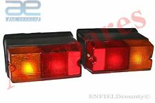 NEW PAIR MASSEY FERGUSON TRACTOR REAR TAIL BRAKE LIGHT LAMP ASSEMBLY